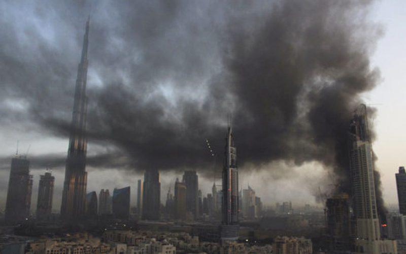 """Breaking fire news: """"Large fire breaks out near world's tallest building in Dubai"""""""