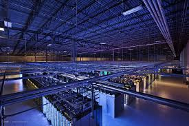 Picture of a Swedish data centre