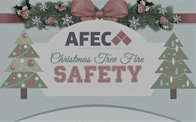 Christmas Tree Fire Safety Infographic